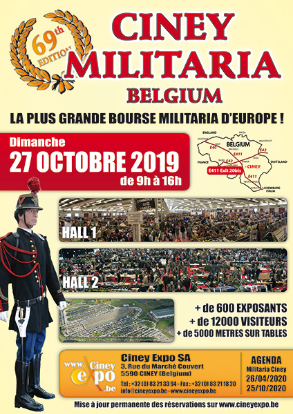 CINEY MILITARIA HALL 1 (OCTOBRE)