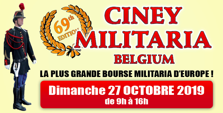 CINEY MILITARIA (OCTOBRE)
